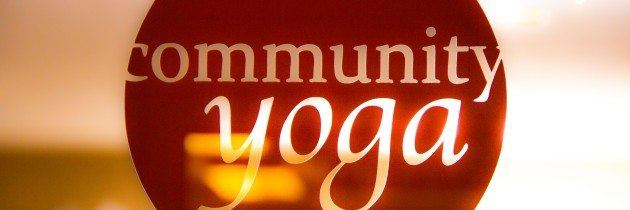 Community Yoga Class, Saturday, Oct. 29